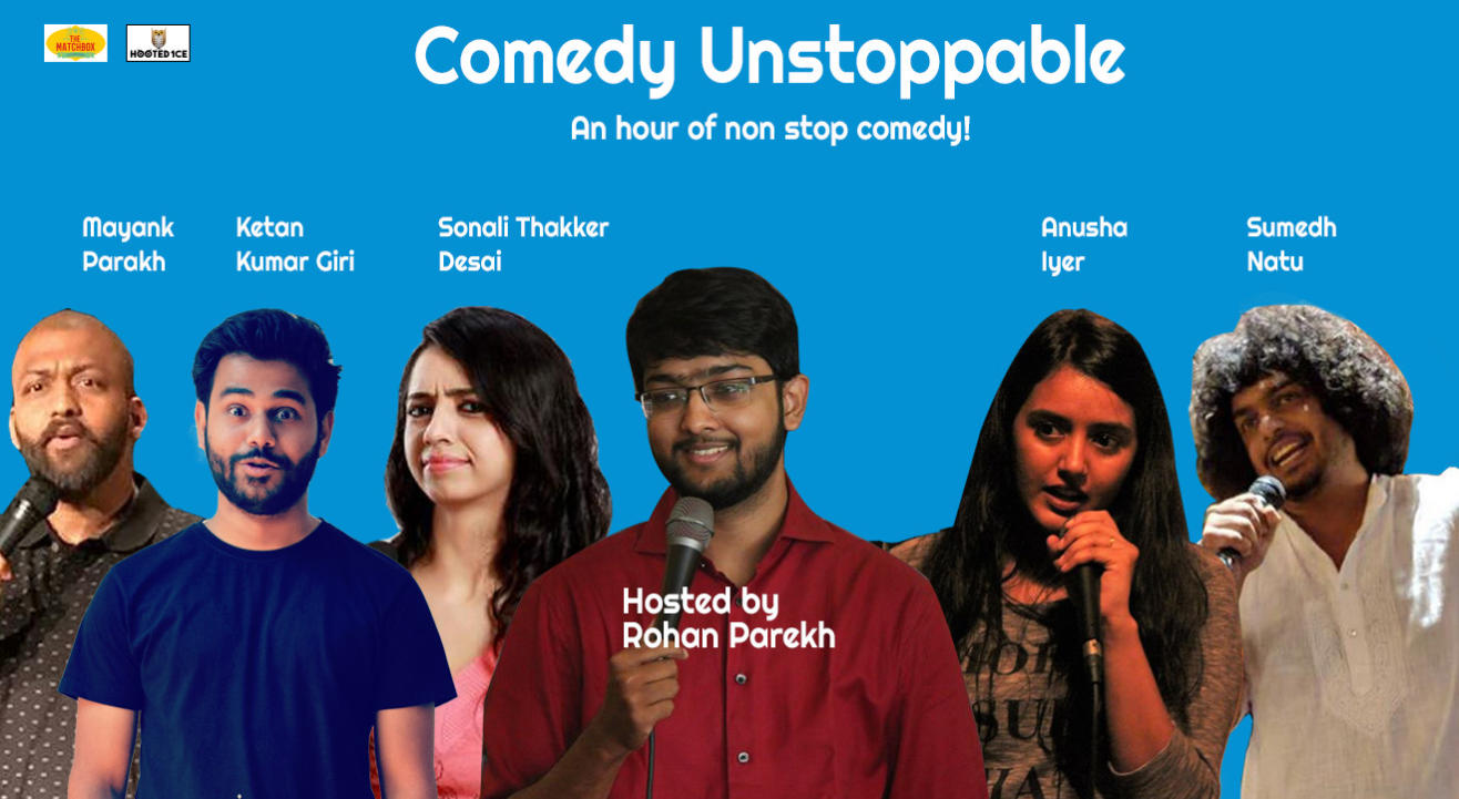 Comedy Unstoppable – An Hour of Non  Stop Comedy