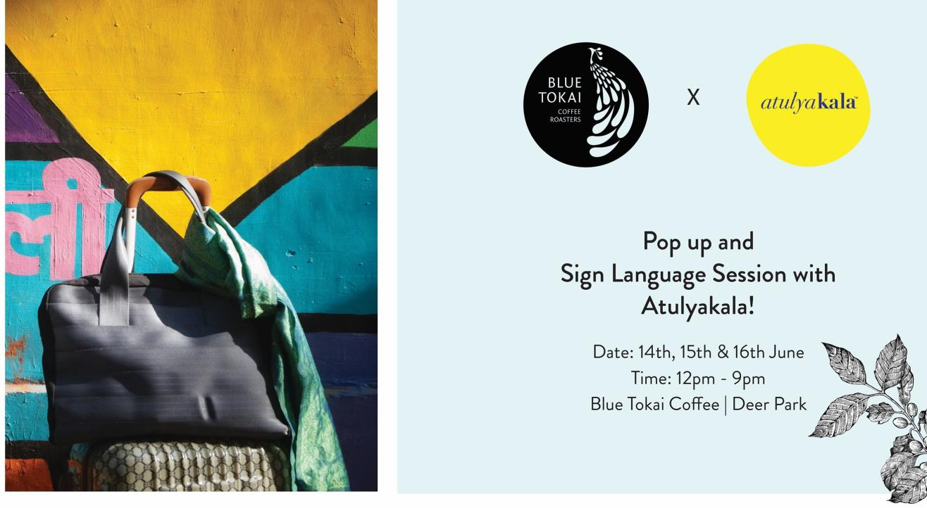 Pop-up and Sign Language session with Atulyakala! | Deer Park