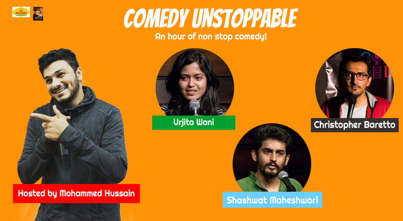 Comedy Unstoppable – An Hour of non  stop comedyy
