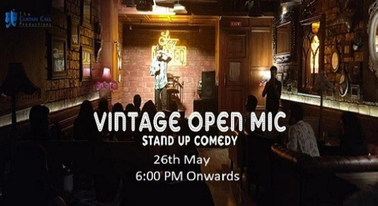 Vintage Open Mic: Stand-Up Comedy
