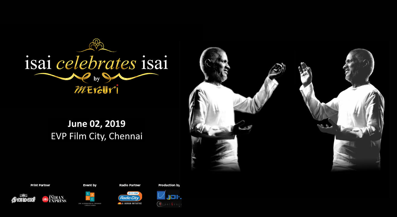 Ilayaraaja Live Concert in Chennai on 2nd June 2019