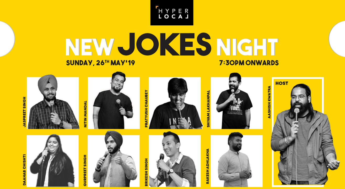 New Jokes Night - Hyper local
