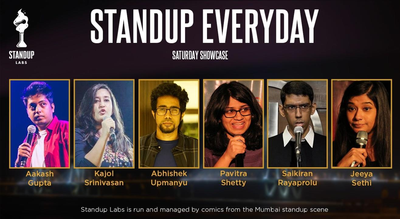 Standup Everyday - Saturday Showcase