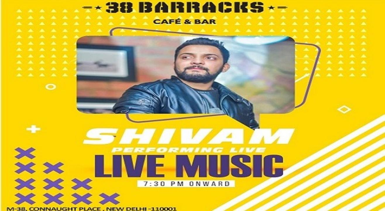 Bollywood Night With Shivam Luthra | 38 Barracks