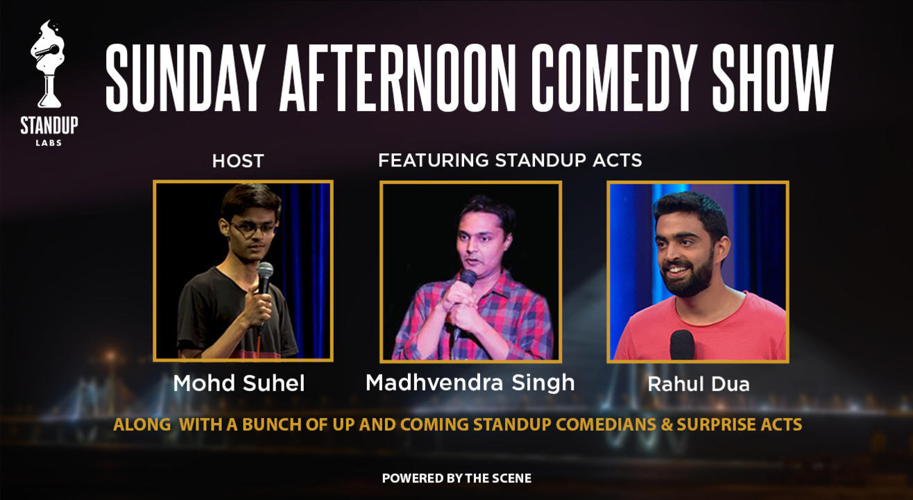 Sunday Afternoon Comedy Show