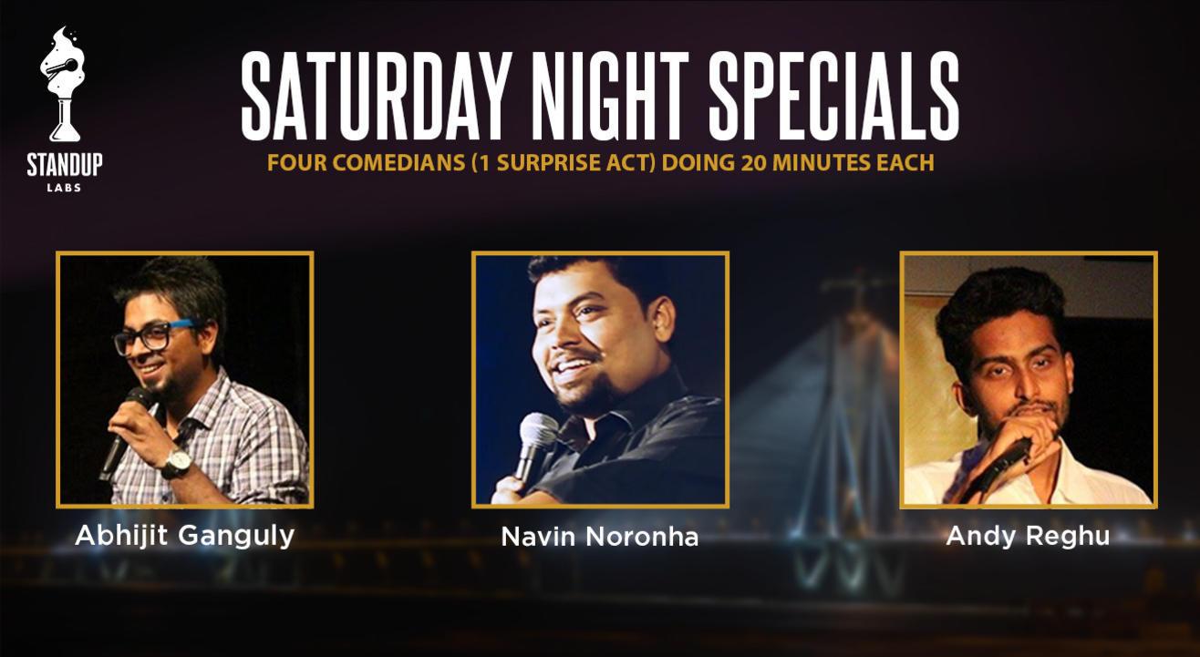 Standup Labs' - Saturday Night Specials