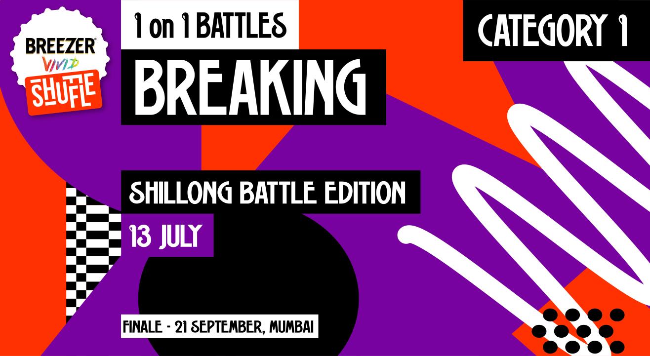 Breezer Vivid Shuffle – Calling all Breakers in Shillong!