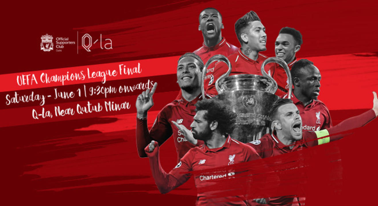 DelhiKop UCL Final Gathering | Tottenham v Liverpool