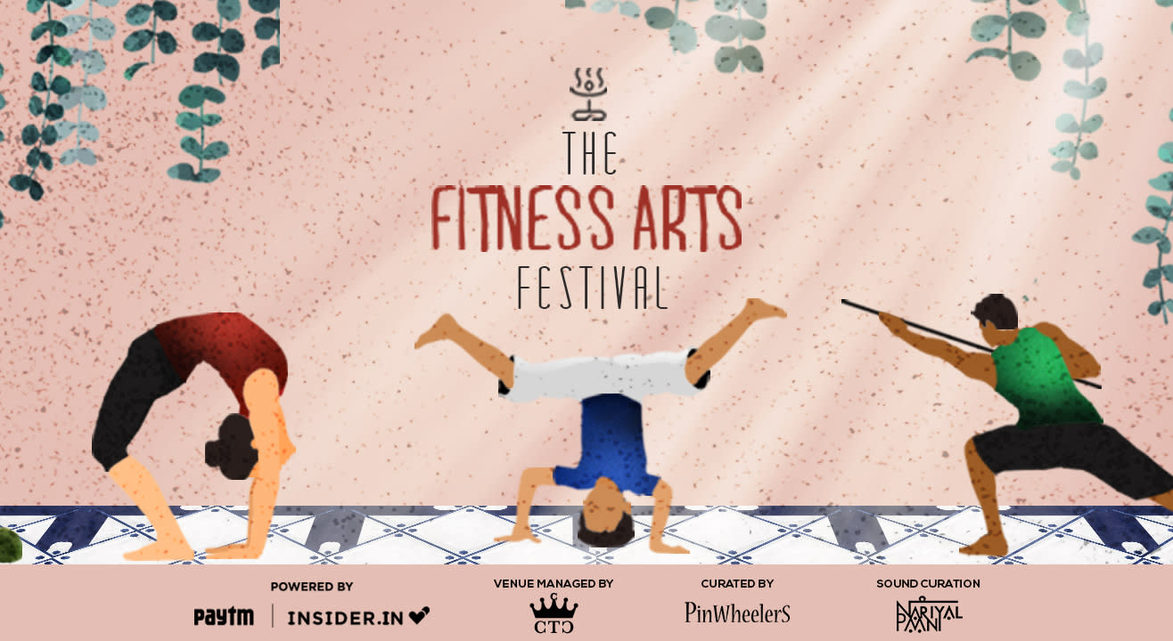 The Fitness Arts Festival | Entry Pass