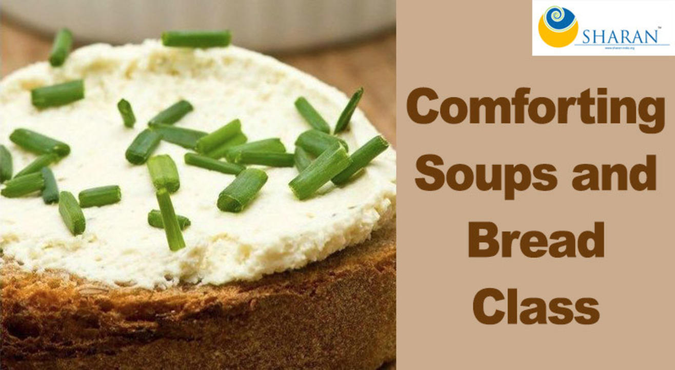 Comforting Soups and Bread Class