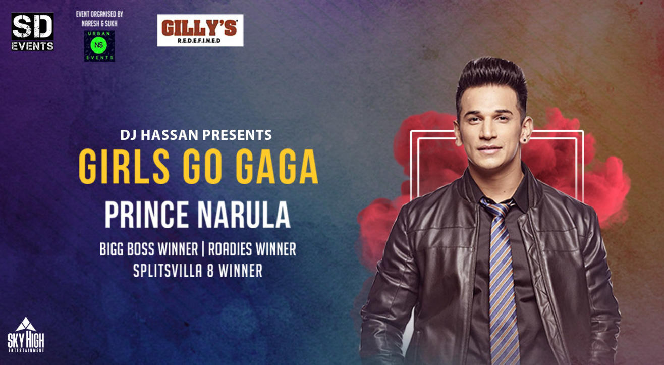 Girls GO GA GA Ladies Night With PRINCE NARULA FT DJ HASSAN