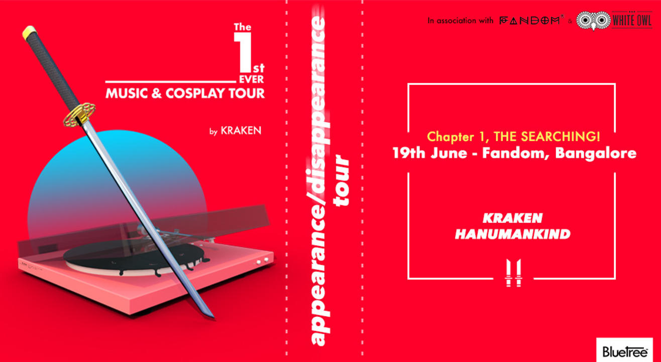Appearance Disappearance Tour by KRAKEN| Music+Cosplay