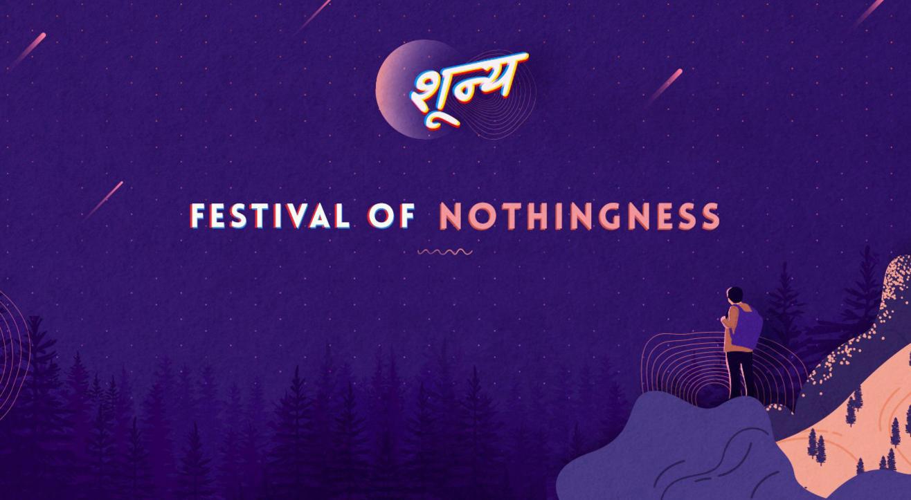 """Celebration of """"nothingness"""