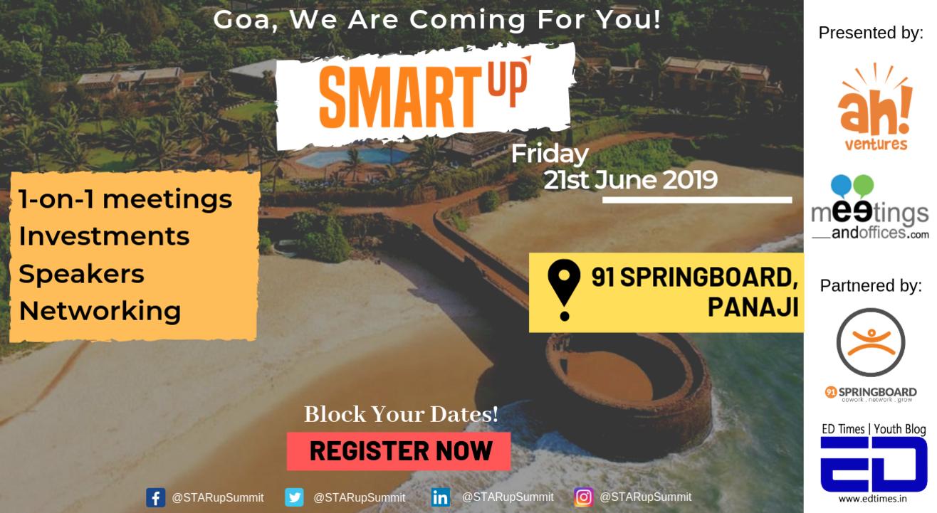 SMARTup Goa 2019