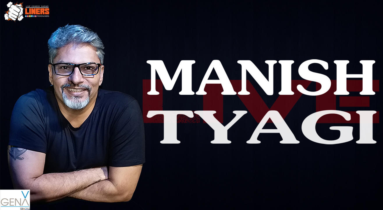Punchliners Standup Comedy Show ft Manish Tyagi at GenX by 1589Hotels