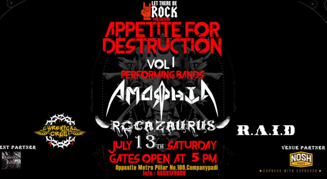 Appetite for Destruction Vol 1
