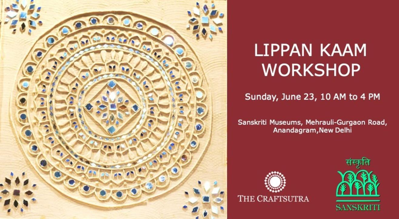 Lippan Kaam (Mud-mirror Art) Workshop