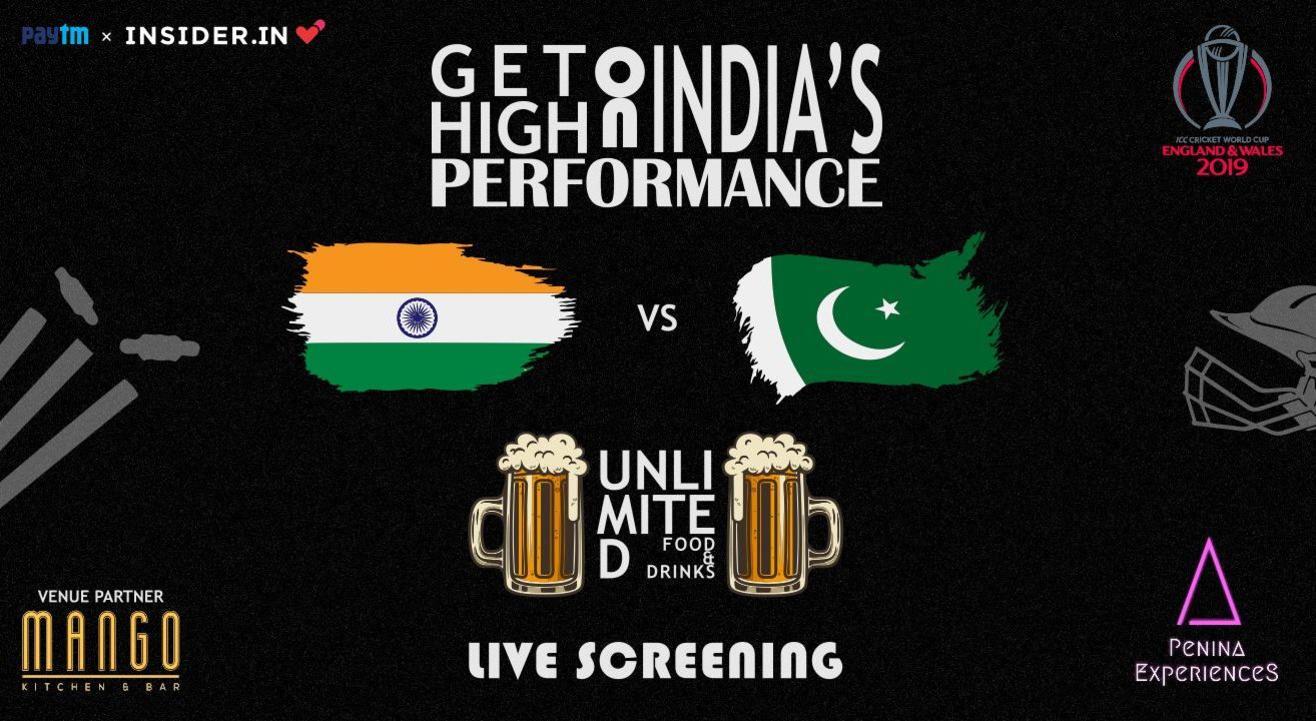 ICC World Cup 2019 IND vs PAK LIVE