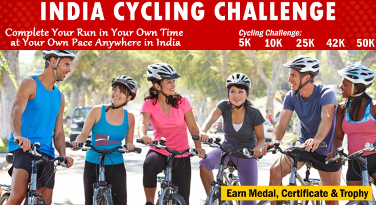 INDIA Cycling- 5K 10K 42K 50K