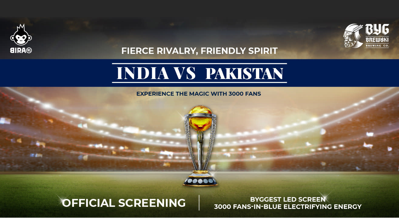 Fans In Blue - Official Screening Of India vs Pak ICC World Cup Match