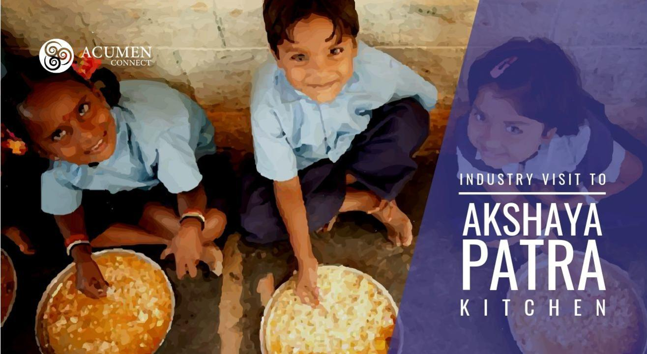 Akshaya Patra Kitchen - Industry Visit
