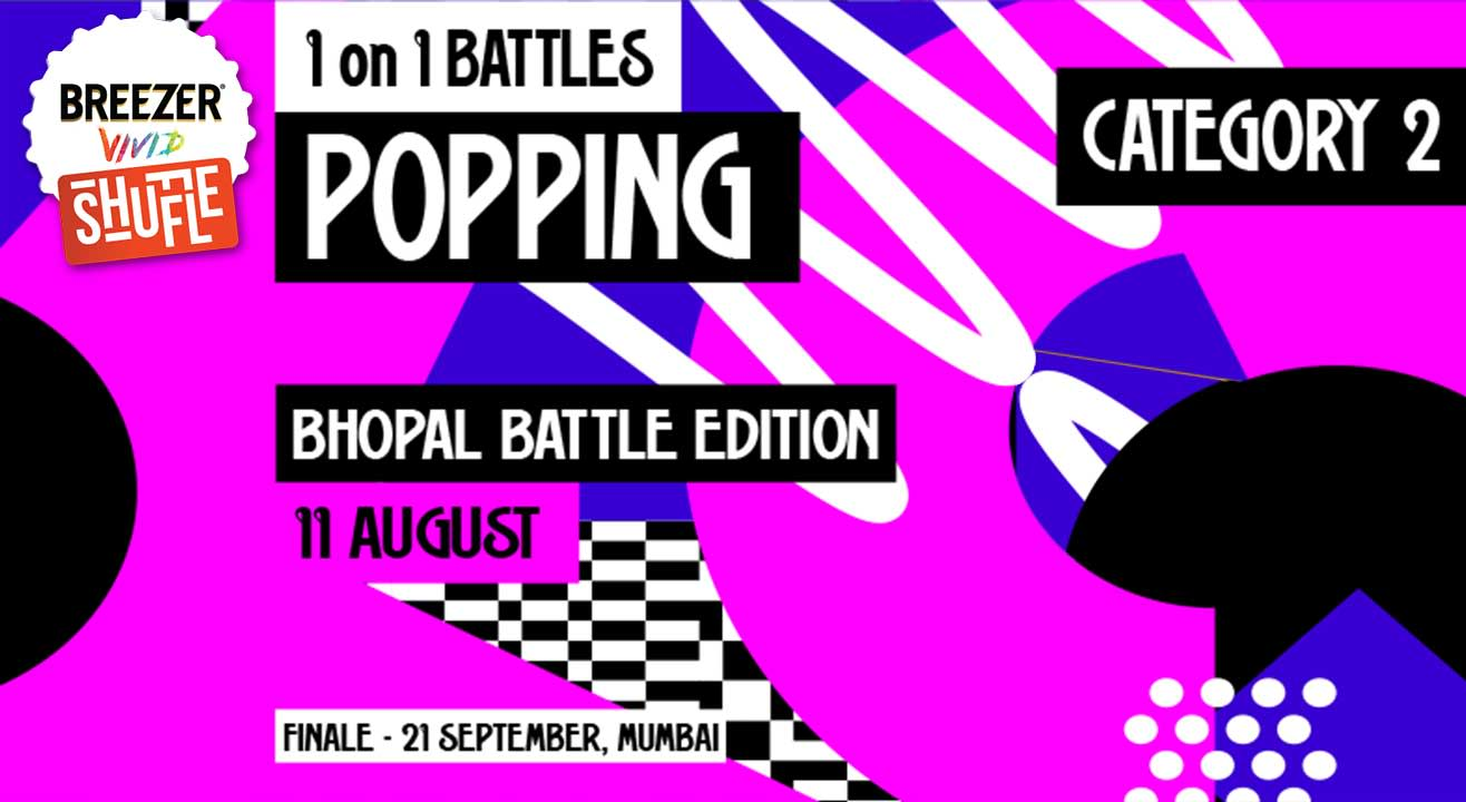 Breezer Vivid Shuffle – Calling all Poppers in Bhopal!