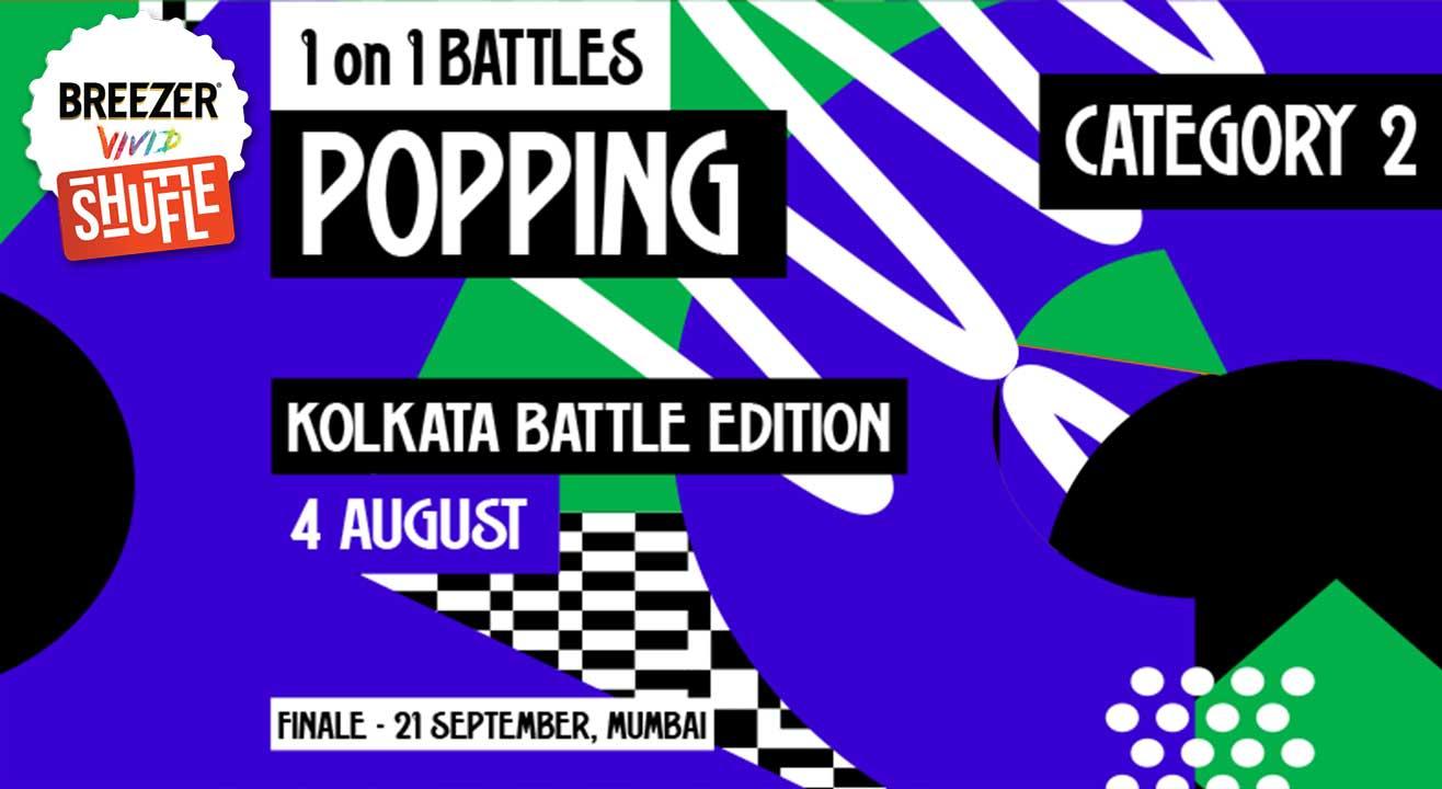 Breezer Vivid Shuffle – Calling all Poppers in Kolkata!