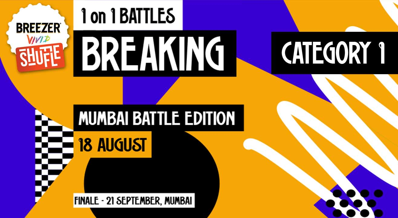 Breezer Vivid Shuffle – Calling all Breakers in Mumbai!