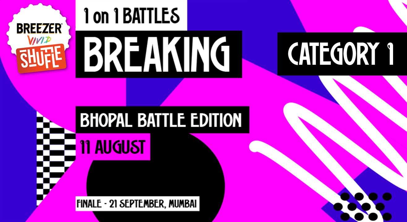Breezer Vivid Shuffle – Calling all Breakers in Bhopal!