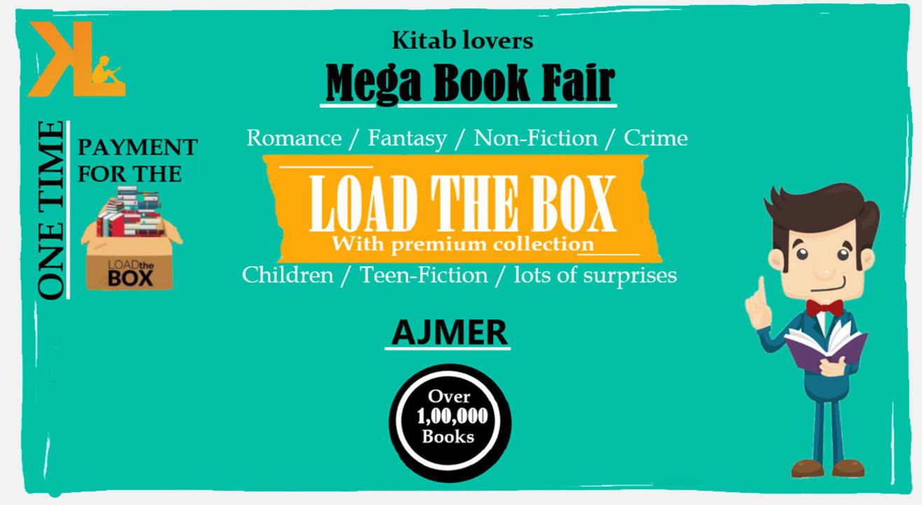 Load The Box - Kitab Lovers Book Fair | Warehouse Sale - Ajmer