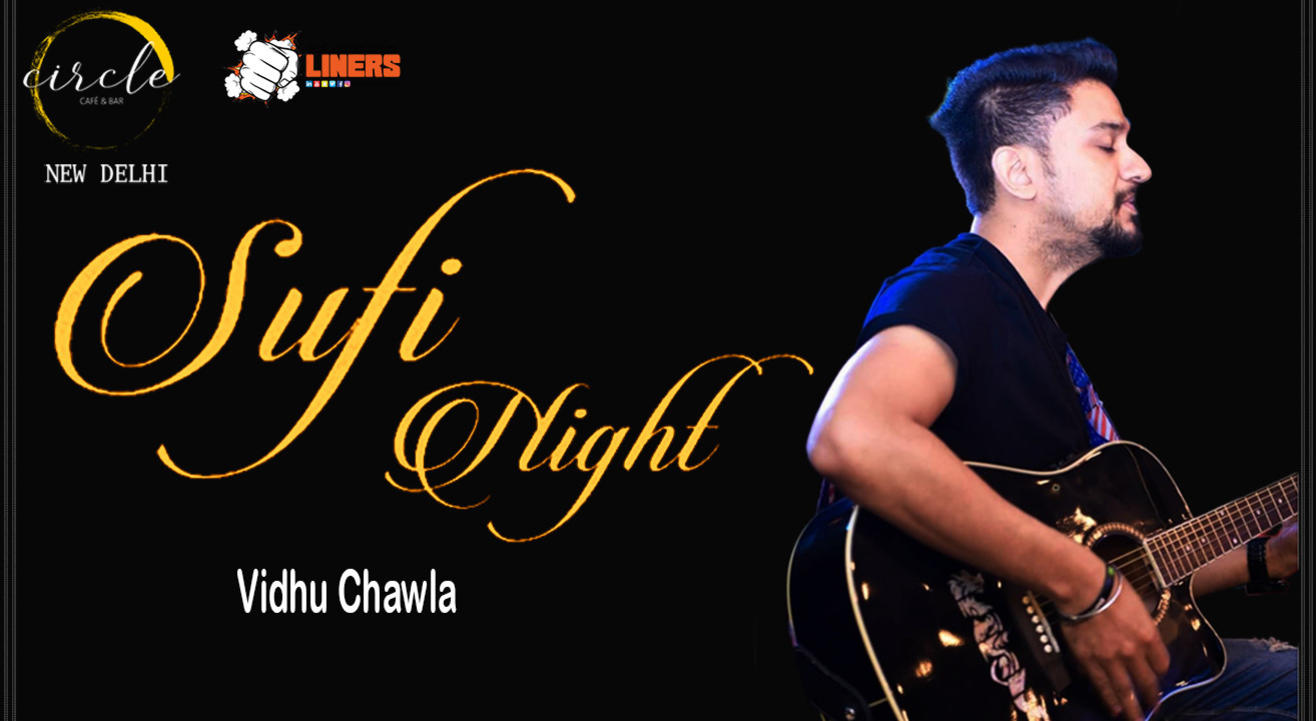 Sufi Night ft. Vidhu Chawla live at Circle Cafe