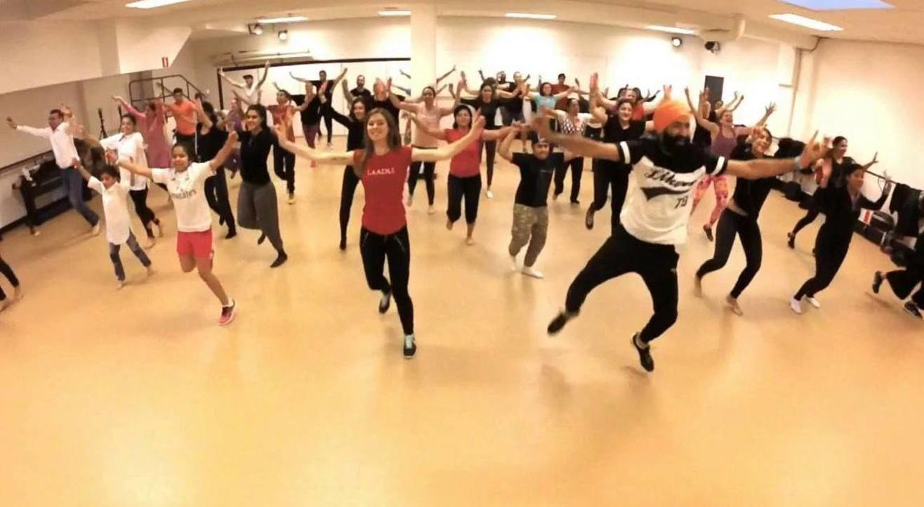 Bhangra dance workshop/class