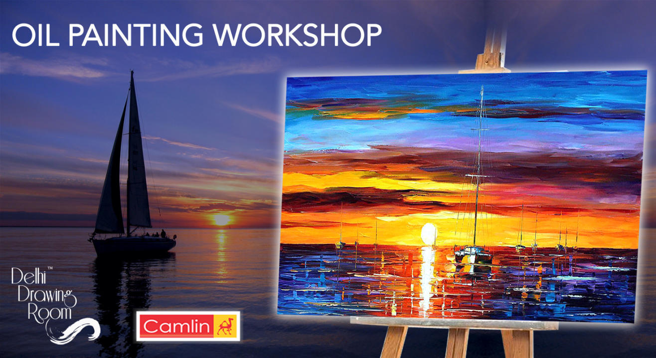 Oil Painting Workshop by Delhi Drawing Room