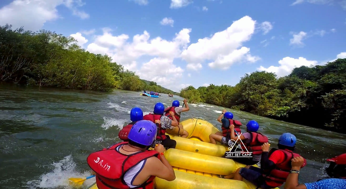Kolad River Rafting & Camping | Get Set Camp