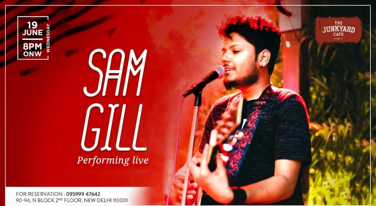 Sam Gill Performing Live