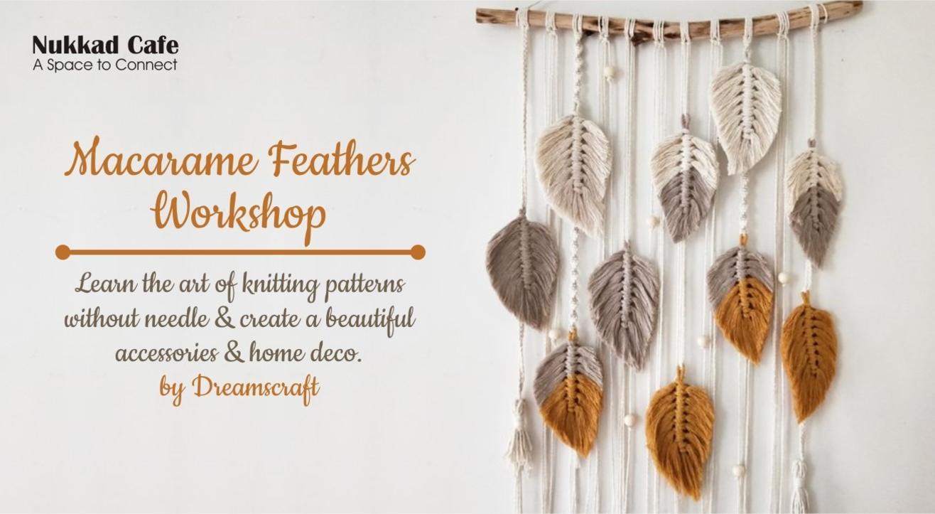 Macramé Feathers Workshop