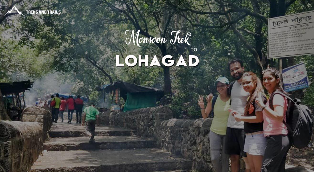 Lohagad Fort Monsoon Trek   Trek and Trails