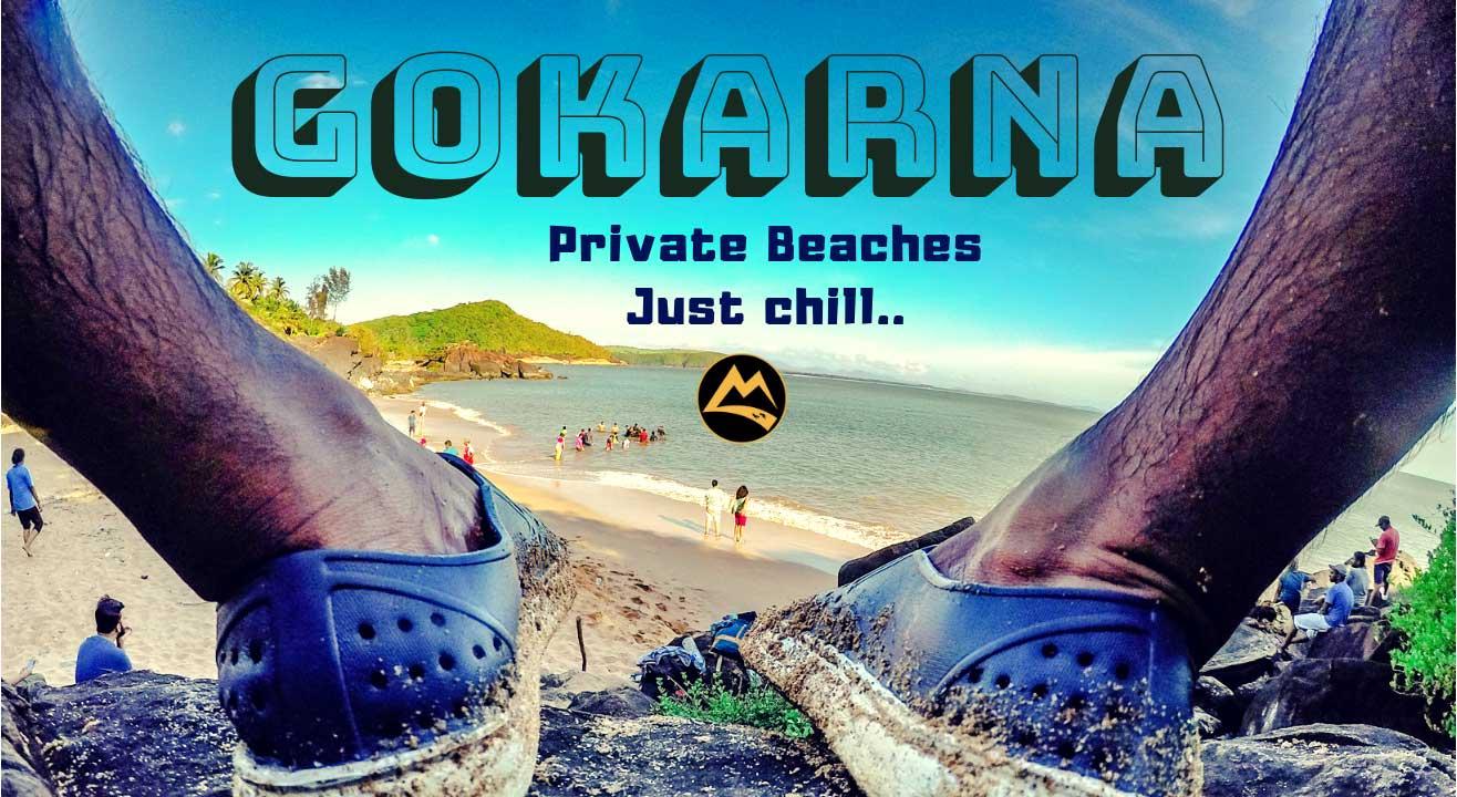 Gokarna Monsoon Chill at Private Beaches, Shacks, Mirzan Fort, Yana Caves | Muddie Trails