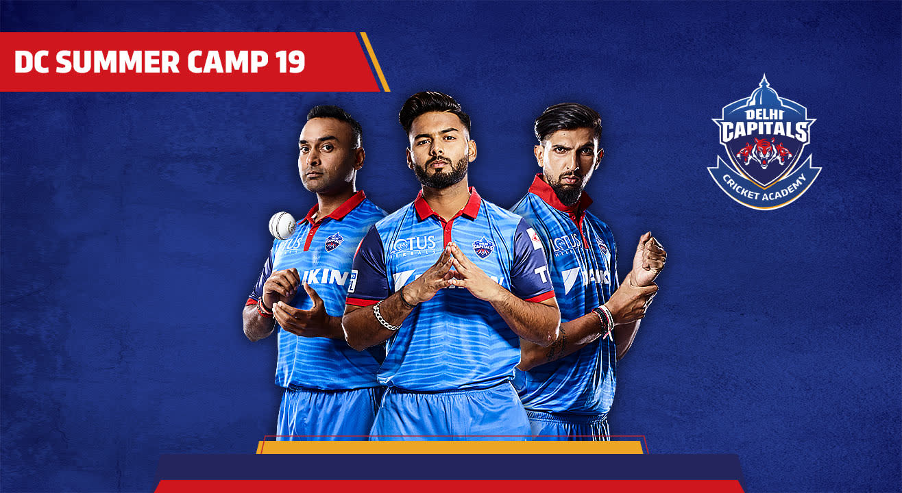 Delhi Capitals Summer Camp