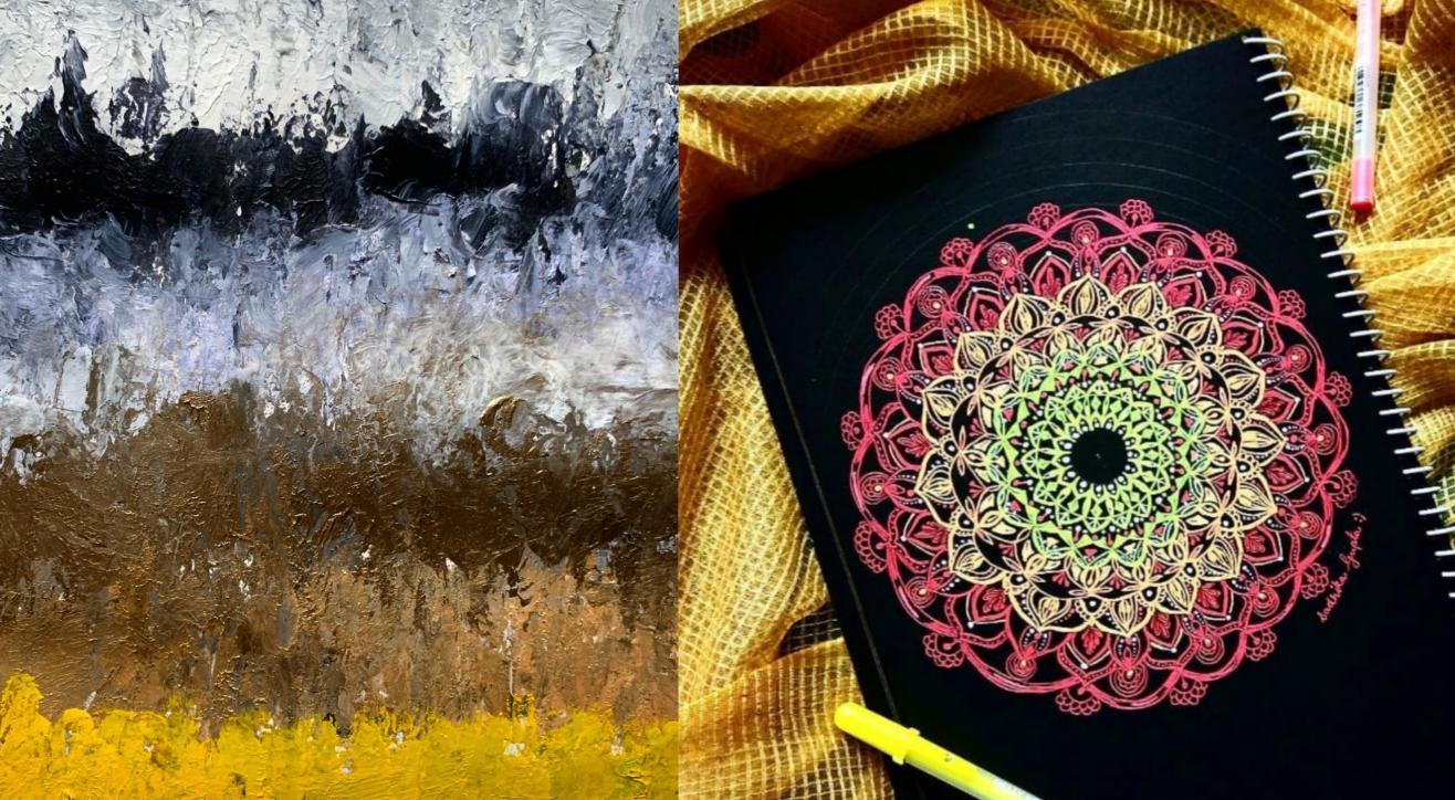 Abstract art and Mandala Workshop