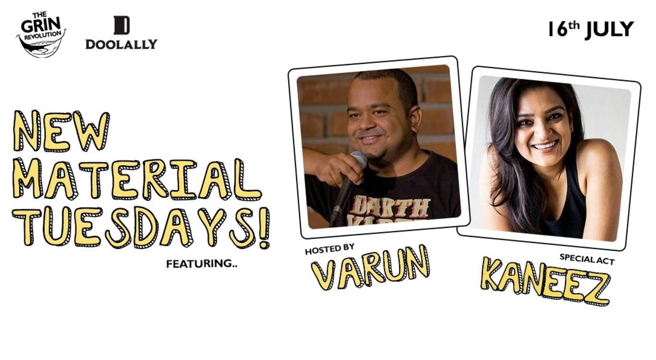 Grin Revolution: New Material Tuesdays w/ Kaneez