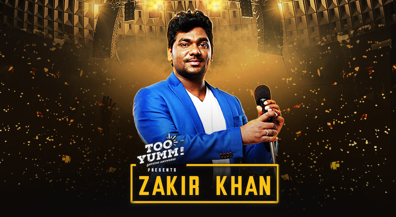 Too Yumm presents Zakir Khan Live  | Vadodara