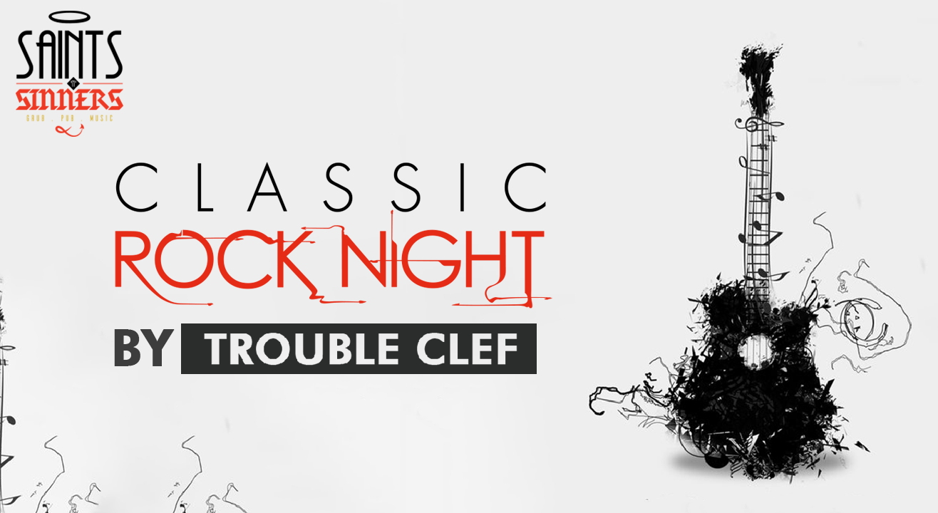 Classic Rock Night by Trouble Clef