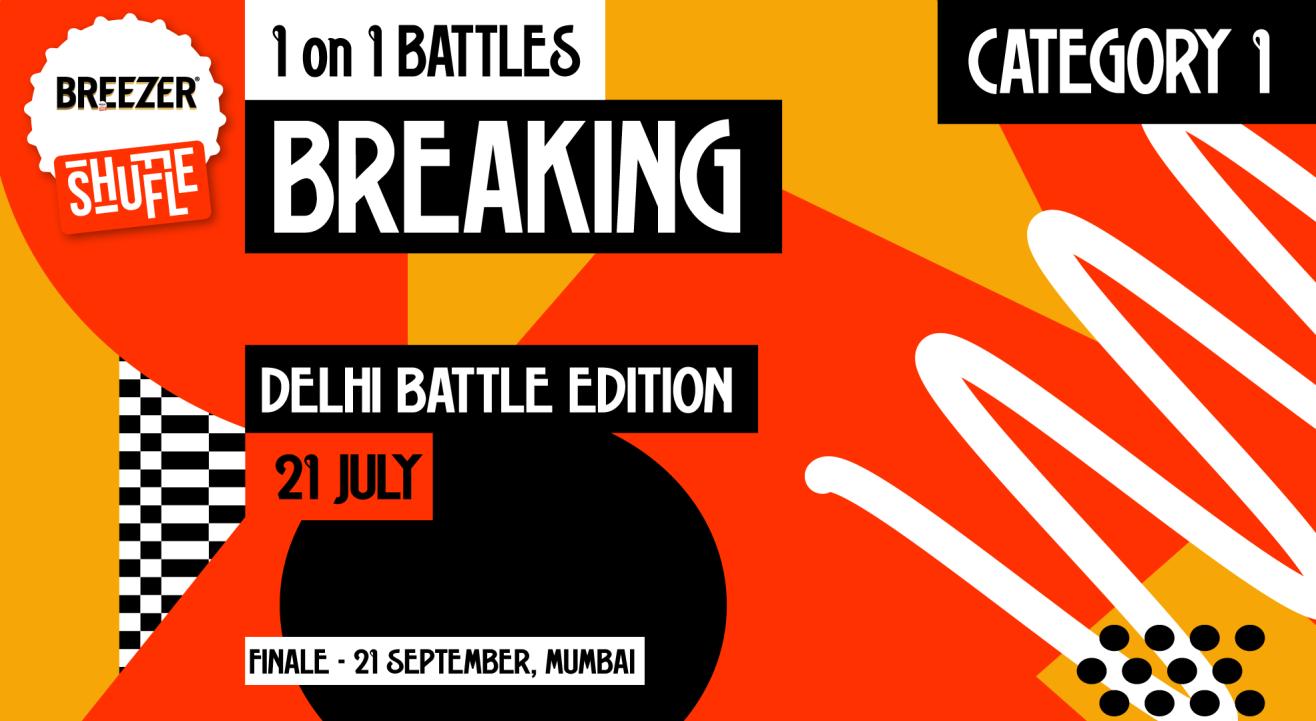 Breezer Vivid Shuffle – Calling all Breakers in Delhi!