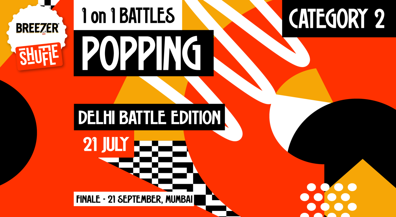 Breezer Vivid Shuffle – Calling all Poppers in Delhi!
