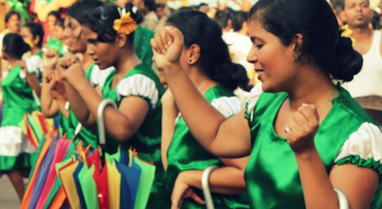 The Festival Of Flags- Main Bonderam- Aug 19'