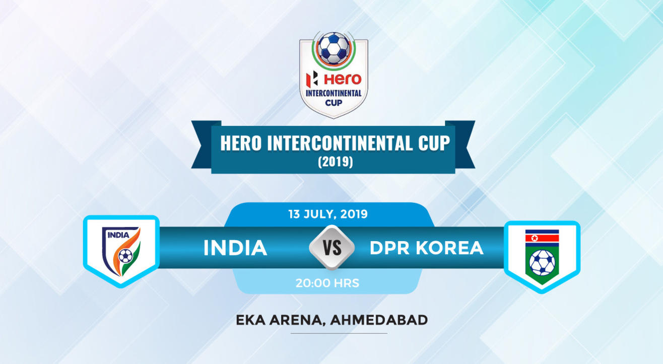 Hero Intercontinental Cup 2019- India vs DPR Korea