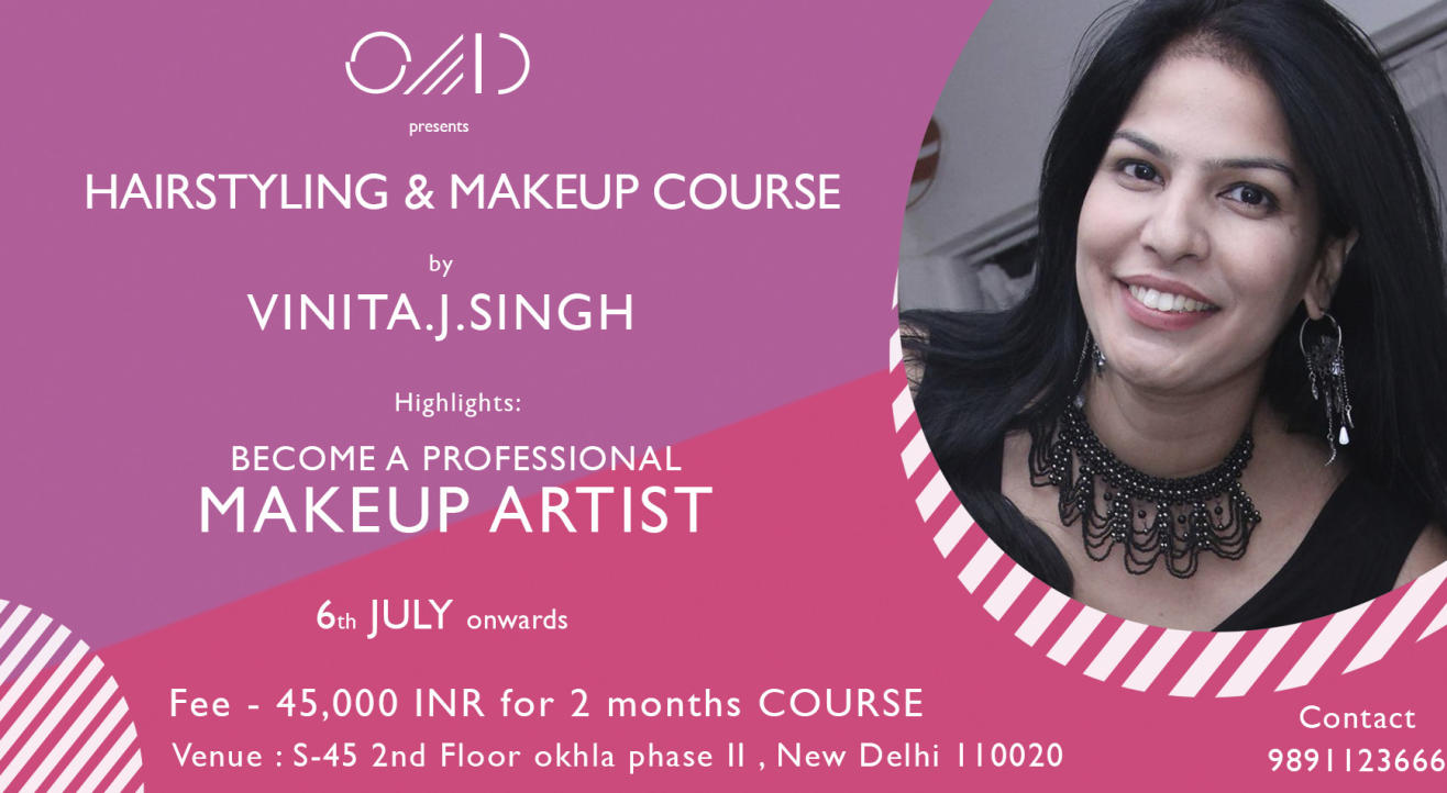 Professional Hairstyling & Makeup Course