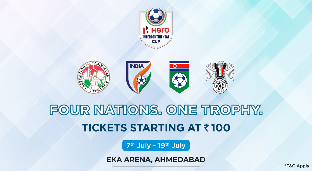 Catch the action at 2019 Hero Intercontinental Cup live!