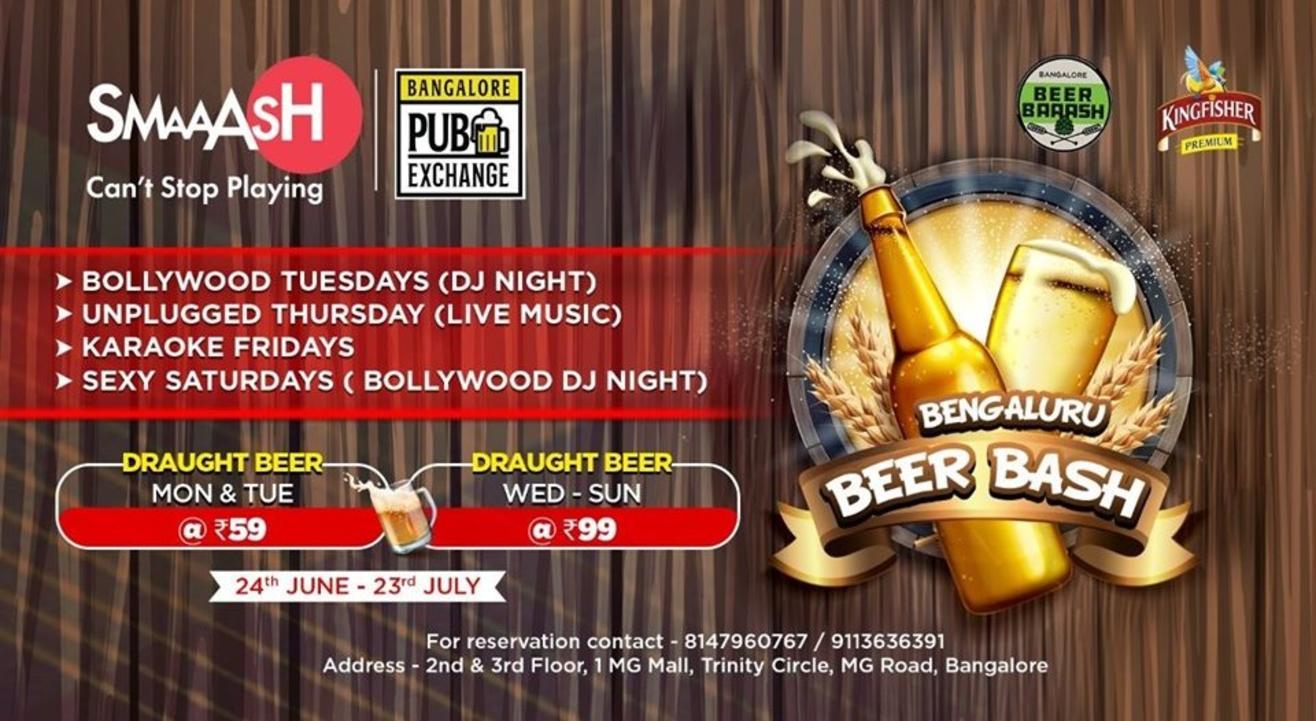 Bengaluru Beer Bash -Bangalore Pub Exchange